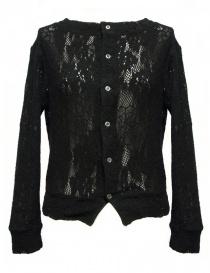 Miyao black cardigan ML-B-12-BLK order online