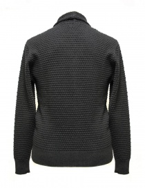 GRP anthracite cardigan with frontal pockets