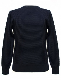 Mens knitwear online: GRP navy sweater