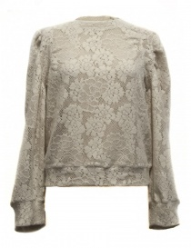 Womens knitwear online: Miyao natural color sweater