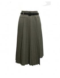 Il by Saori Komatsu green grey skirt 193-424 LADE order online