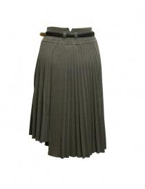 Il by Saori Komatsu green grey skirt