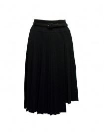 Il by Saori Komatsu black skirt 193-424 BLK order online