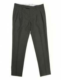 Cellar Door Forniture Civili grey trousers 32IUS2PINCE- order online