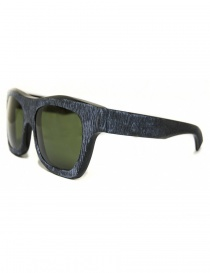 Paul Easterlin Newman sunglasses with green lenses