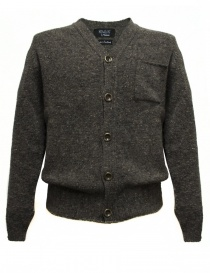 Cardigan Howlin' by Morrison colore grigio ED-MUD order online