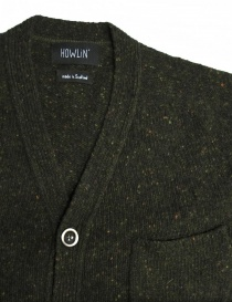 Cardigan Howlin' by Morrison colore verde