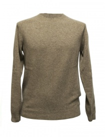 Mens knitwear online: Howlin' by Morrison beige sweater