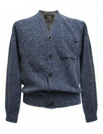 Cardigan uomo online: Cardigan Howlin' by Morrison colore blu