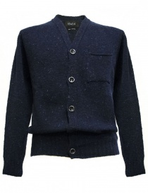 Cardigan uomo online: Cardigan Howlin' by Morrison colore blu navy