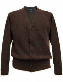 Cardigan uomo online: Cardigan Howlin' by Morrison colore ebano