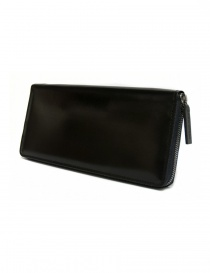 Ptah black navy leather wallet PT150503-NAV order online