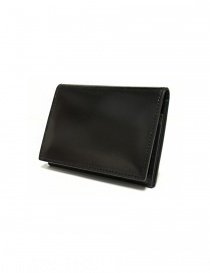 Ptah Fuukin black leather business card holder PT150303-BLK order online
