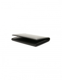Ptah Fuukin black leather business card holder