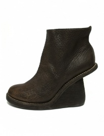 Guidi 6006 brown leather ankle boots