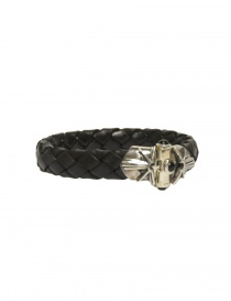 Elfcraft black leather bracelet