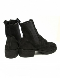 Guidi 76Z black suede leather ankle boots