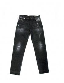 Avantgardenim Shiny Boy Carrot jeans SHINY BLACK order online