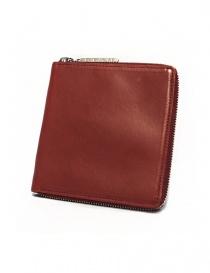 Porta carte Ptah in pelle rossa PT130105-RED order online