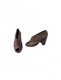 Brown leather Devrandecic shoes