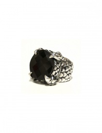 Anello Elfcraft con pietra nera 800133LOPL64 order online