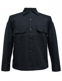 Camicia Camo colore navy BALIO-148-NA order online