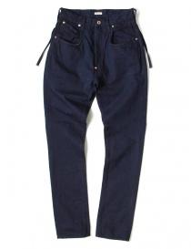 Womens trousers online: Kapital indigo pants