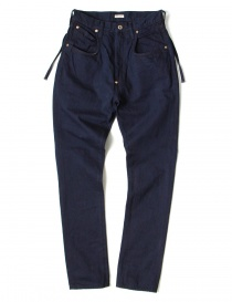 Pantaloni donna online: Pantalone indigo Kapital