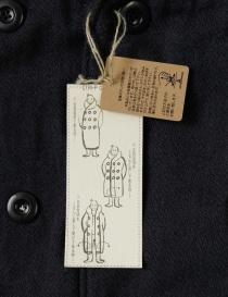 Kapital multi-purpose EK-395 Tri-P coat navy jacket