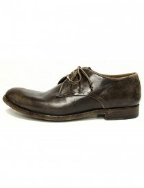Shoto mid brown leather shoes