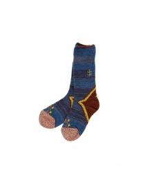 Socks online: Kapital blue socks