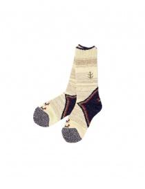 Socks online: Kapital ivory socks