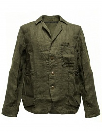 Mens suit jackets online: Kapital army green jacket