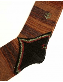 Kapital brown socks