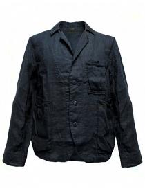 Mens suit jackets online: Kapital navy jacket