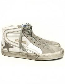 Sneaker Golden Goose Slide colore bianco GCOMS595-M1 order online