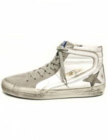 Sneaker Golden Goose Slide colore bianco