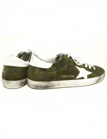 Sneaker Golden Goose Superstar colore army