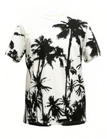Golden Goose White Palms t-shirt G30MP524-D3 order online