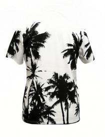 T-shirt Golden Goose White Palms