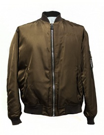 Giubbino Golden Goose Oversized Bomber colore marrone G30MP561-A1 order online