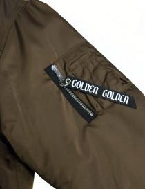 Golden Goose Oversized Bomber brown jacket