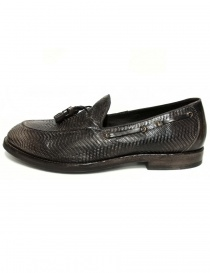 Shoto dark brown leather mocassin shoes