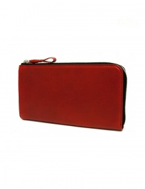 Cornelian Taurus Tower red leather wallet online
