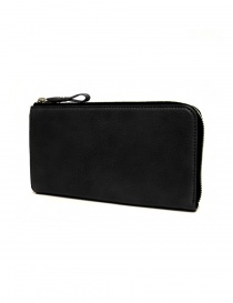 Cornelian Taurus Tower black leather wallet online