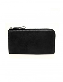 Cornelian Taurus Tower black leather wallet