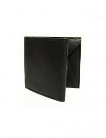 Portafogli online: Portafoglio Cornelian Taurus Fold in pelle nera