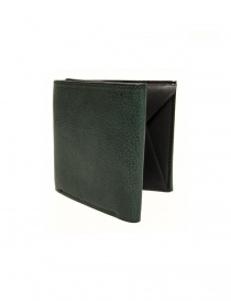 Portafogli online: Portafoglio Cornelian Taurus Fold in pelle verde