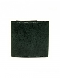 Cornelian Taurus Fold green leather wallet