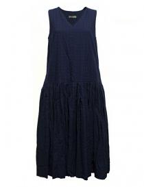 Womens dresses online: Casey Casey light navy sleeveless dress